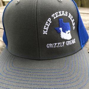 9bf87ee4454 Keep Texas Beard Hat – Gray Blue