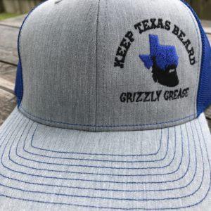 54a0a23786a Keep Texas Beard Hat – Light Gray Blue